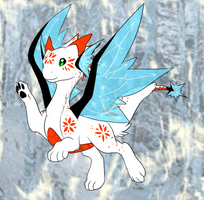 Winters Brisinga whelp by Sakuyamon