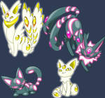 shiny cat pokemon