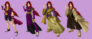 Ice Outfits by Sakuyamon