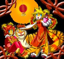 Happy Tiger Year by Sakuyamon