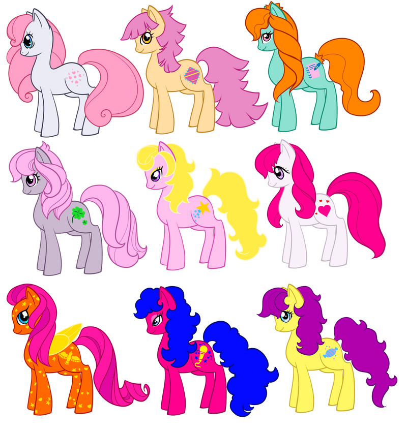 Mixed MLP FIM Style by Sakuyamon on DeviantArt - Hairstyle Simulator