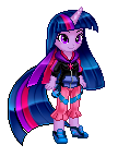 Human sprite Twilight Sparkle by Sakuyamon