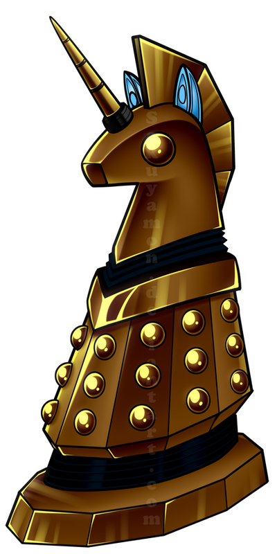 Extermineigh! My Little Dalek by Sakuyamon