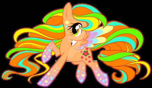 Rainbow Power April Blossom