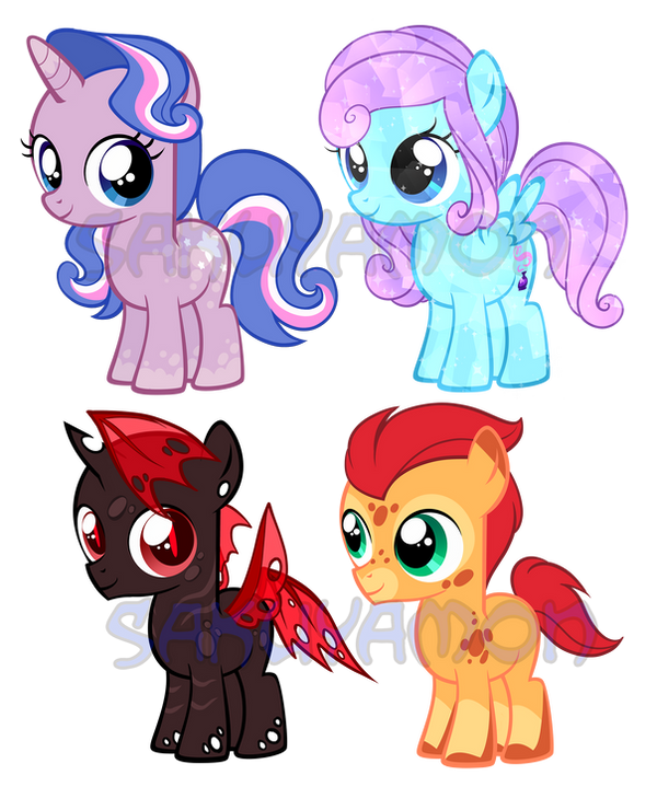 Pony Adoptables 7 by Sakuyamon