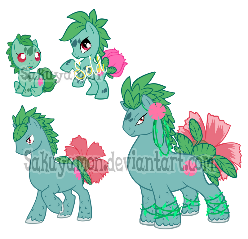 PokePony Adoptables 2 by Sakuyamon