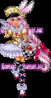 EAH OC Bunny Legacyday ver by Sakuyamon