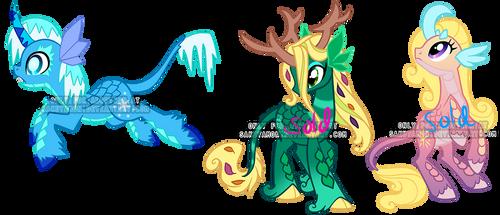 Kirin pony adoptable1 by Sakuyamon