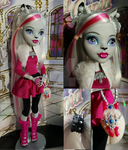 Monster High Custom Aurora Foxley