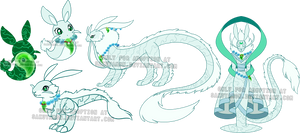 Evolving Dragon Adoptables- Jade-