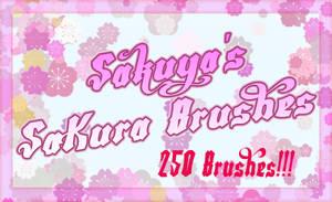 Sakuyas Sakura Brushes by Sakuyamon