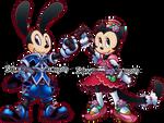 KH:HOD Oswald and Ortensia by Sakuyamon
