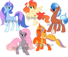Mare pony adoptable 42 by Sakuyamon