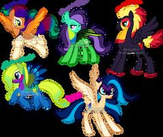 Bird Pegasus Pony Adoptable2 by Sakuyamon