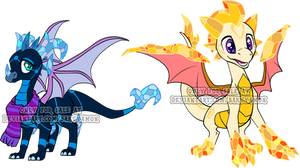 Spyro the Dragon Adoptable6 by Sakuyamon