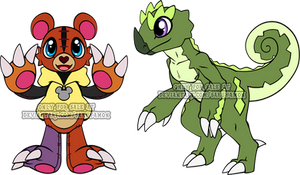 Digimon Rookie Adoptables 3 by Sakuyamon