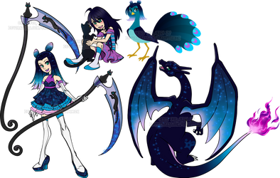 Kingdom Hearts evo Adopt4 Cold Light by Sakuyamon