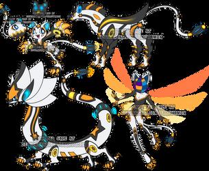Digimon Adopt Set Cyber 1 by Sakuyamon