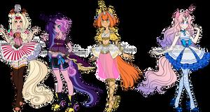 Magic Girl Unicorn Adopts
