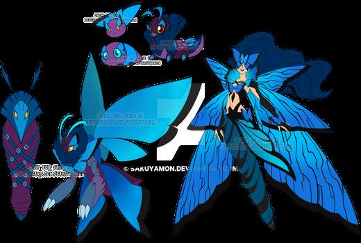 Digimon Adoptable set Azure Wing