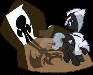 Mystery Evolving Pony Adoptable Mystique Noir2