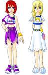 KH H.O.D: Kairi and Namine
