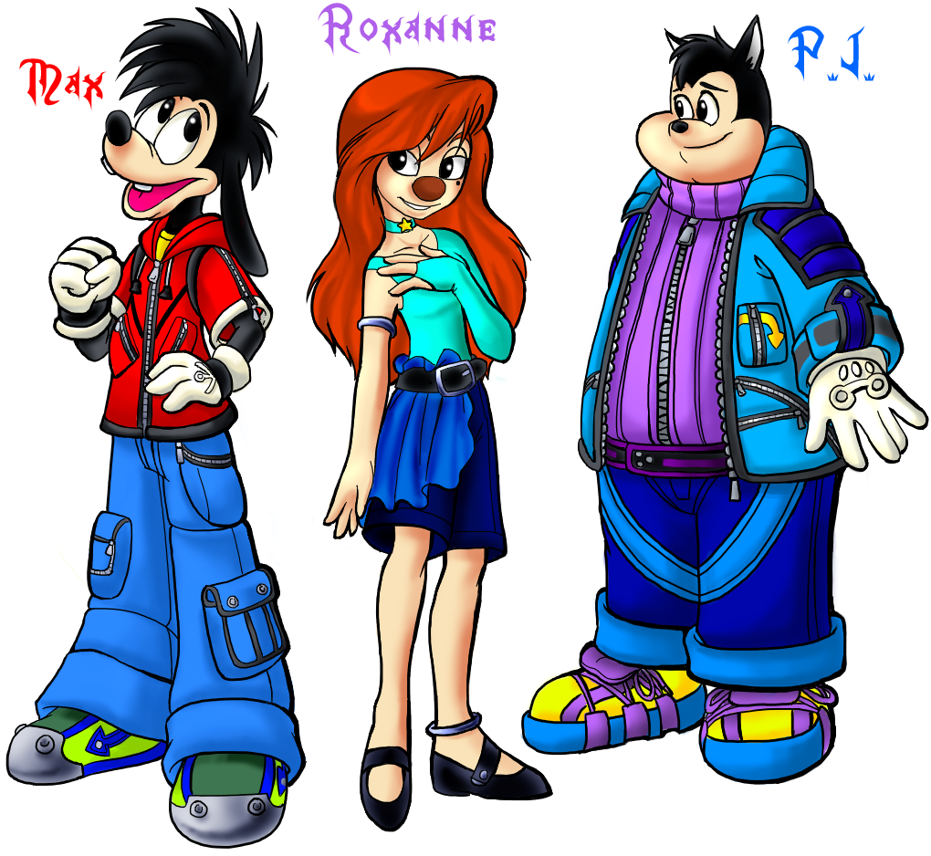 KH Max, Roxanne, P.J. by Sakuyamon on DeviantArt