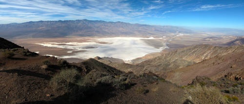 Salty Death Valley by proch