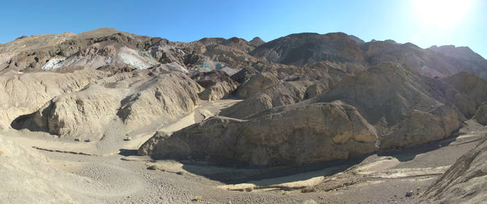 Artists palette, Death Valley by proch