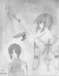 Fanart: Ciel ~executioner mode on~ by TetsuiArikado