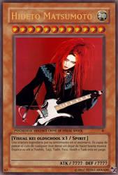 Hideto Matsumoto card by TetsuiArikado