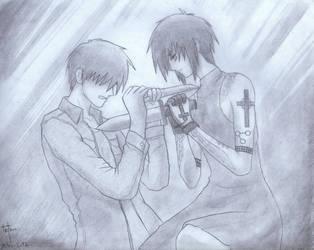 Fanart: I cannot kill you... by TetsuiArikado