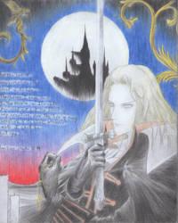 Fanart Alucard by TetsuiArikado