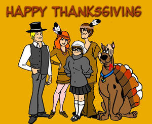 Scooby Doo Thanksgiving