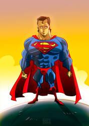 superman... by ArtDaft