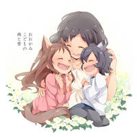 Ookamikodomo no Ame to Yuki by U35