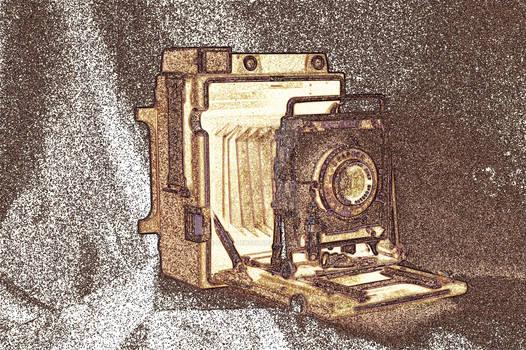 Vintage Press Camera
