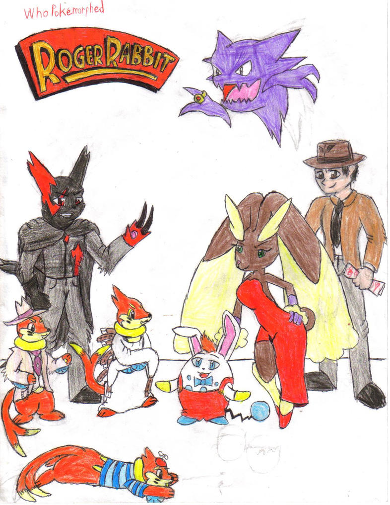 Who pokemorphed Roger Rabbit by CaliforniaHunt24 on DeviantArt