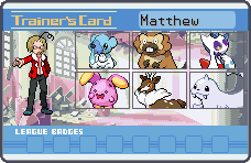 Canada trainer card by CaliforniaHunt24