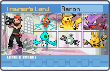 Aaron Trainer Card by CaliforniaHunt24