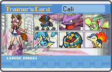 Cali trainer card by CaliforniaHunt24