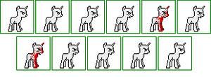 Crazed Grin pony icon base