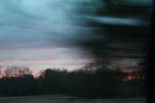 streaks of sky