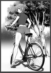 Cycling by HandsofMidaz