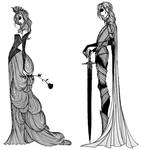 Margaery and Loras Tyrell