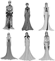 Game of Thrones Season 2 Women's Costumes