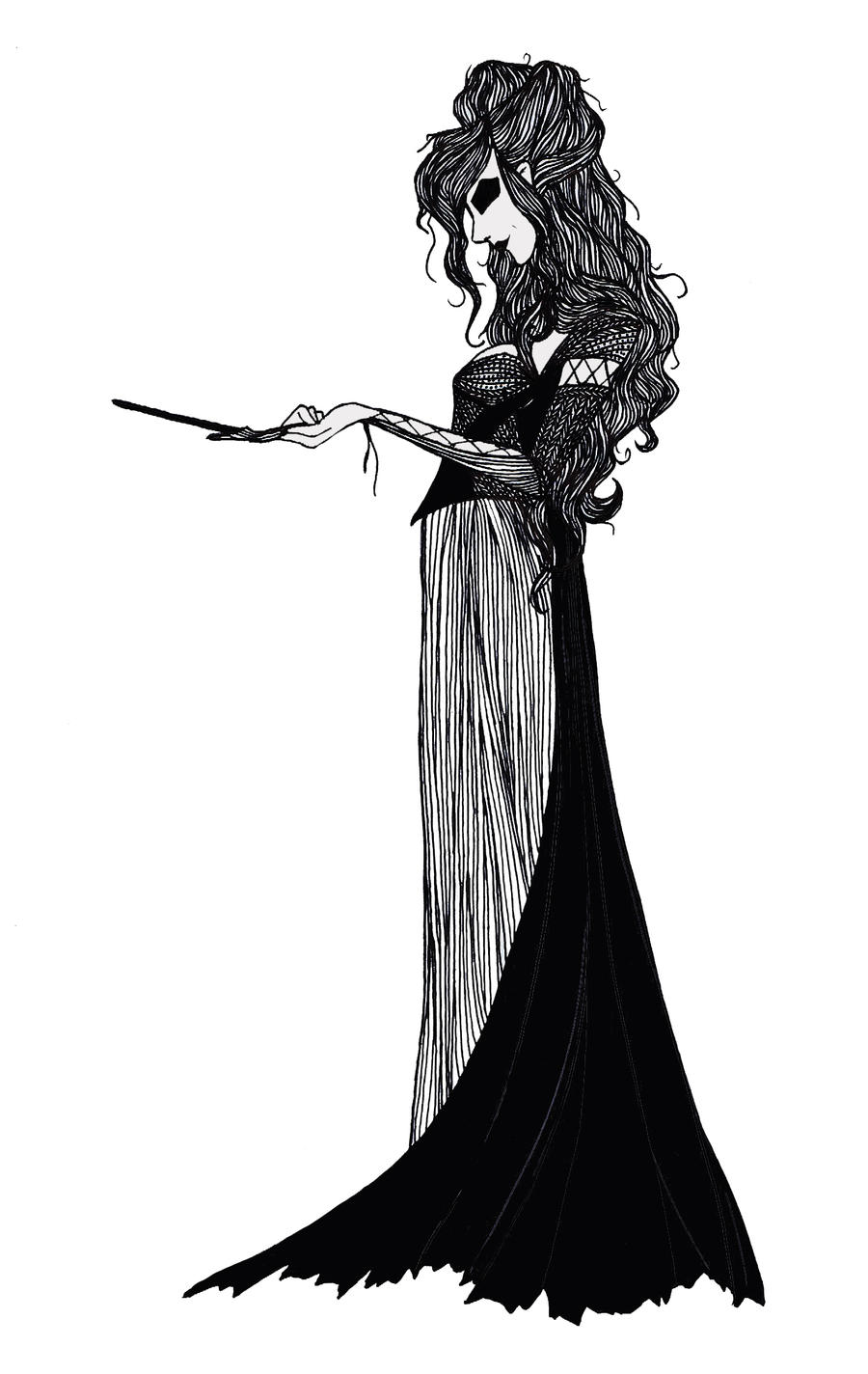 Bellatrix Lestrange by cabins