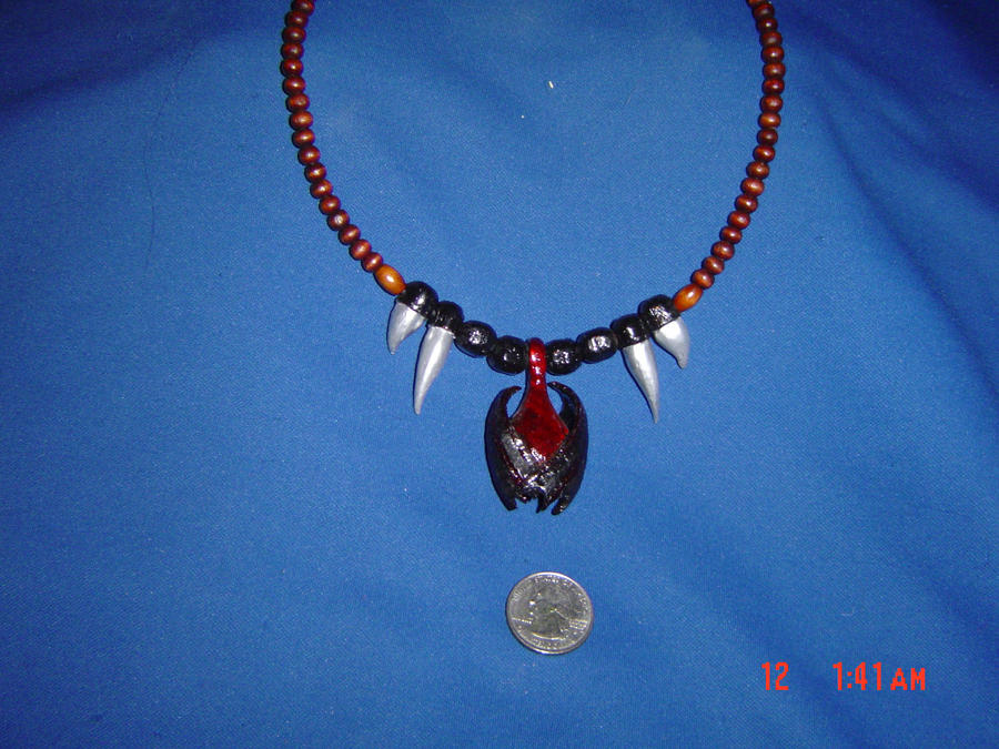 Vampire pendant necklace by midnightjester on deviantart vampire pendant necklace by midnightjester aloadofball Images