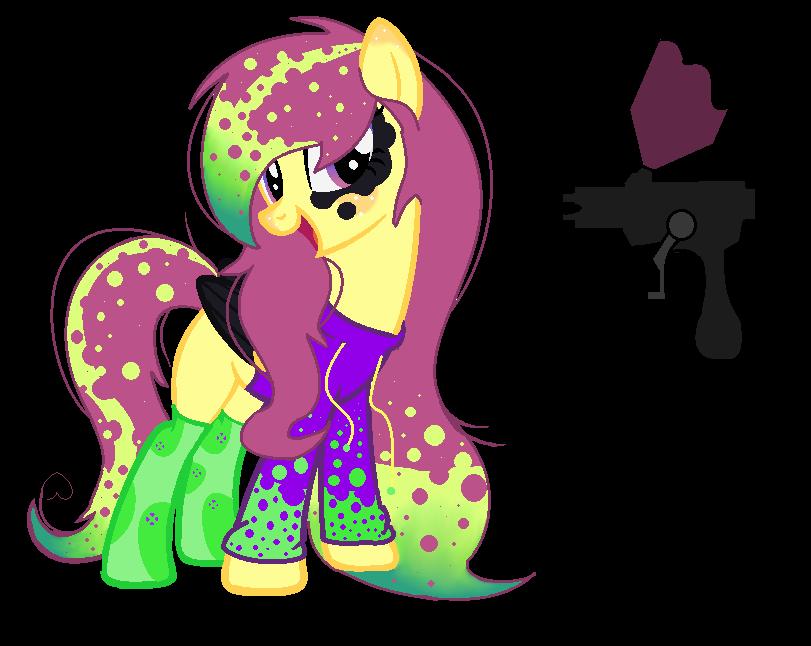 Adopted Pony Paint Gun By Pinnacleoftime On Deviantart