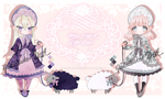 Mary Had A Little Lamb - Adoptables 2/2 OPEN by Fukutsuko